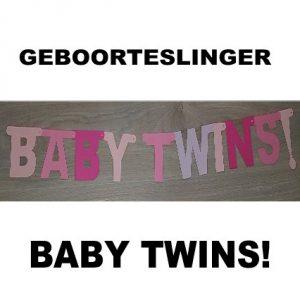 Babytwins meisjes geboorteslingers