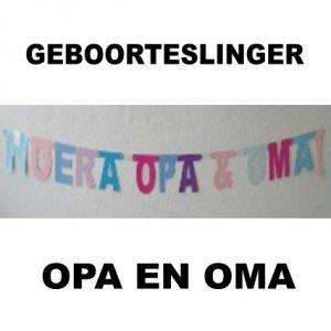 Hoera Opa en Oma Pk1
