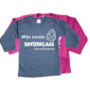 Babyshirt mijn 1e Sinterklaas