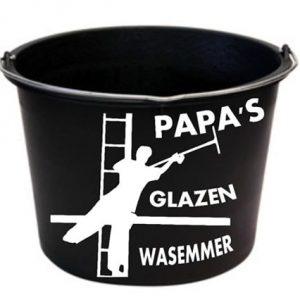 glazenwasser emmer Papa