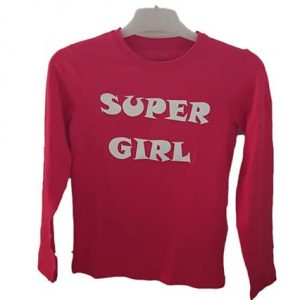Kindershirts super girl