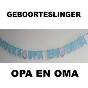 Geboorteslinger Opa en Oma Pk4