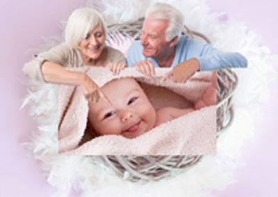 geboorteslingers kleinkind