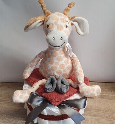 luiertaart giraf
